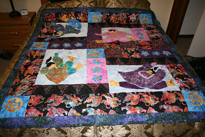 The quilt I bought.